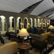 A discrete view on Emirates Dubai first class lounge - passion4luxury