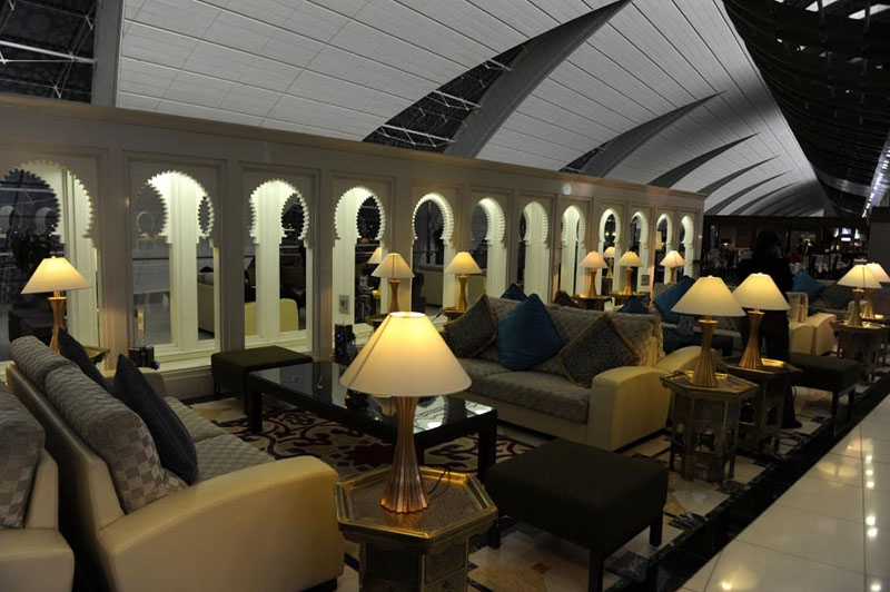 Emirates First Class Lounge Dubai Airport Pictures to Pin