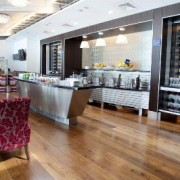 Collectively the lounges at Heathrow, known as Galleries, are capable of hosting up to 2,500 people.The Galleries Club Lounge is open to our Club World, Club Europe, Gold and Silver Executive Club members. A Wine Gallery and Work and Entertainment Zones also feature in lounge.